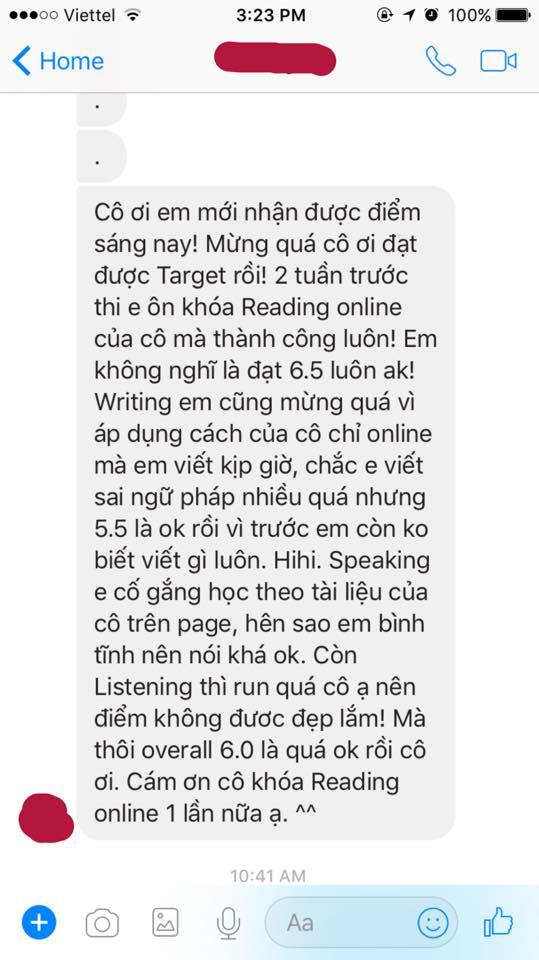 khóa học ielts reading online
