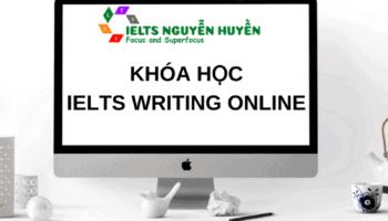 featured image - khoa ielts writing online