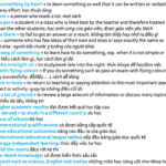 education-vocabulary