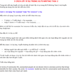 cách lấy ví dụ trong ielts writing task 2